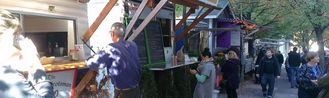 Portland's famous food trucks
